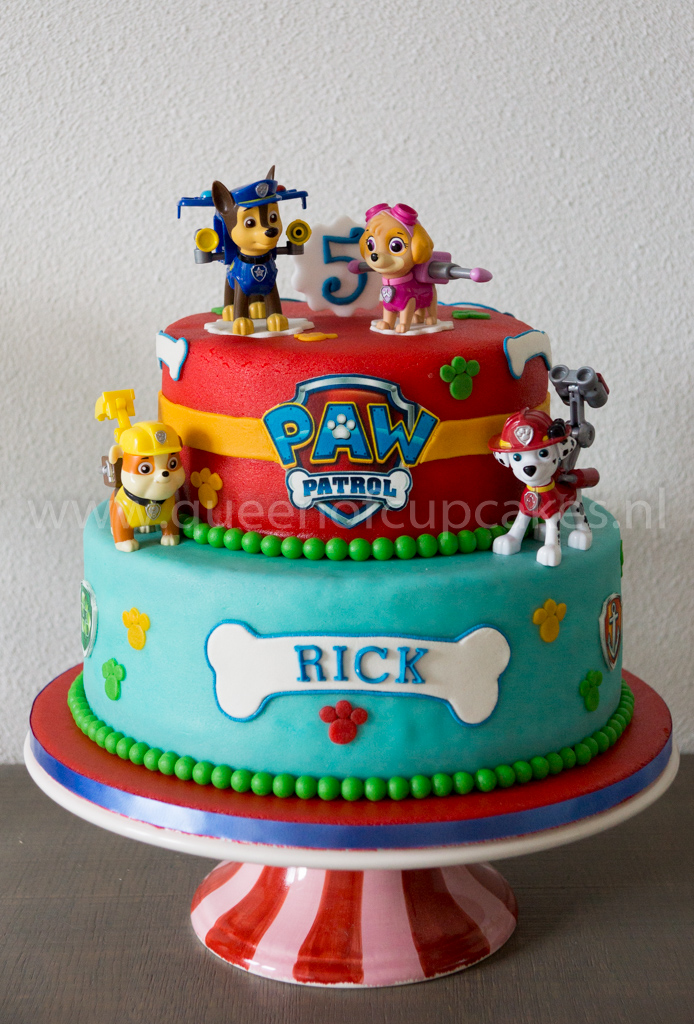 Paw Patrol Taart Queen Of Cupcakes