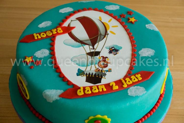 Iets Nieuws Jokie en Jet Taart - Queen of Cupcakes &WV48